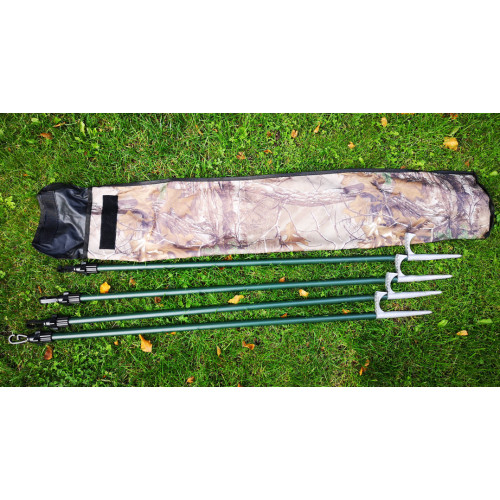 Adjustable poles 4 pack with bag