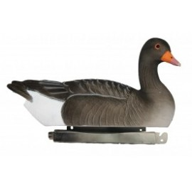 Tanglefree Floating Greylag Goose Flocked