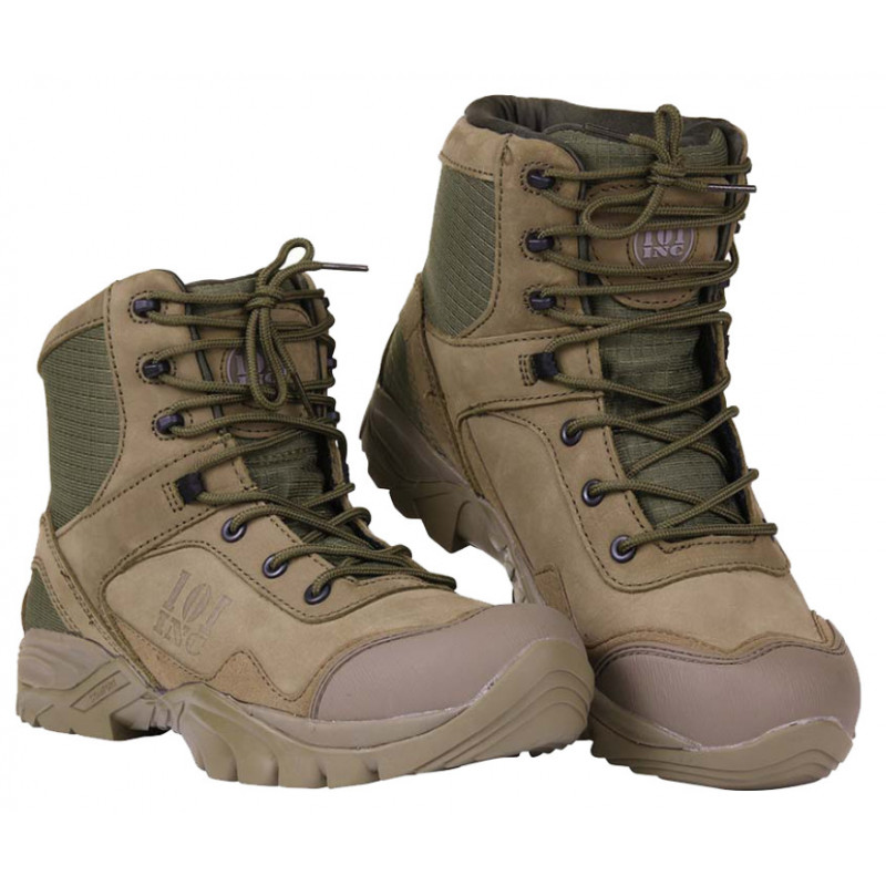 101 Inc boots Medium High - Recon Boots Green