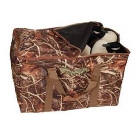 Deluxe 6 Slot Goose Decoy Bag