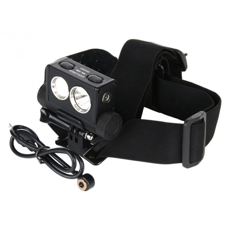 PowerTac headlamp Explorer HL10 rechargeable