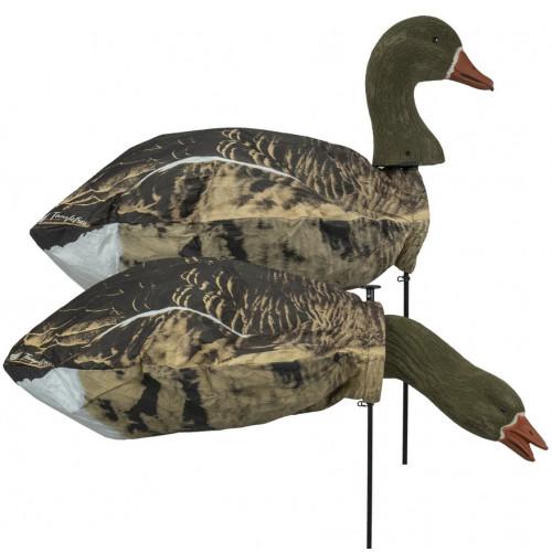 Tanglefree Specklebelly Goose Slammer Sock 3D flocked heads – 12 Pack