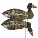 Tanglefree Specklebelly Goose Slammersocks 2D heads