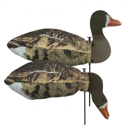 Tanglefree Specklebelly Goose Slammersocks 2D heads